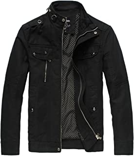 mens slim fit black jacket