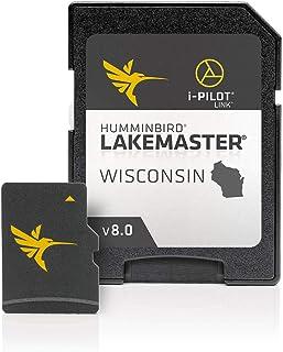 Humminbird 600025-7 LakeMaster Wisconsin V8 Digital GPS Maps Micro Card