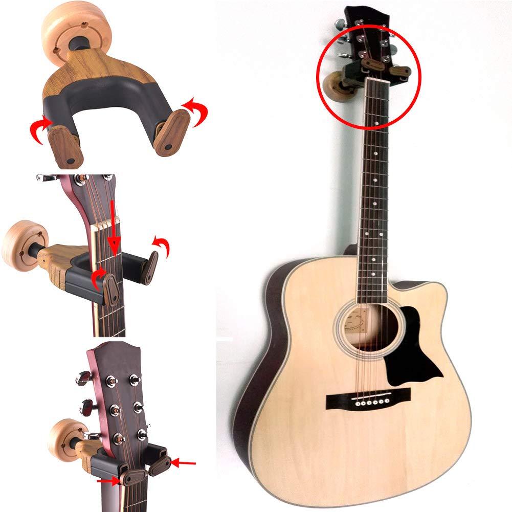 Gancho de pared para guitarra, soporte de pared para soporte de ...
