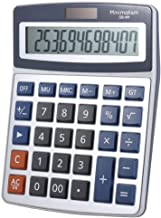 $28 » Electronics Desktop Electronic Calculator 12 Digits Large Display Solar Battery Dual Power Supply for Office Keys Study Sc...