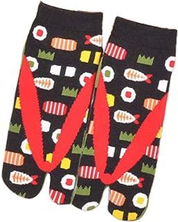 Calcetines de estilo japonés con sandalias con punta dividida Tabi Ninja Geta Calcetines de geisha para mujer, S-22