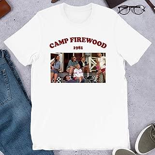 Camp firewood 1981 Wet hot American Summer Tv Aesthetic Tumblr Graphic Gift for Men Women Girls Unisex T-Shirt