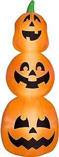 Halloween Airblown Inflatable 7 ft. Pumpkin Stack by Gemmy Industries
