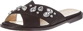 Ninewest Silica Sandal For Women Black Size 37.5 EU