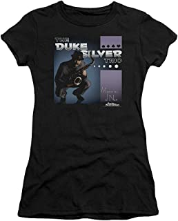 Parks and Recreation Comedy NBC TV Series Album Cover Juniors Sheer T-Shirt Tee