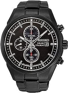 SSC393 Men's Core Black Bracelet Band Black Dial Watch