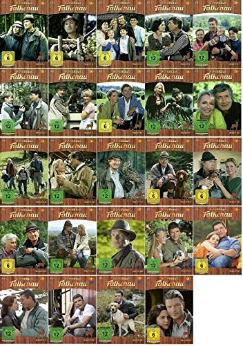 Forsthaus Falkenau Die komplette Serie - Staffel 1-24 / (1+2+3+4+5+6+7+8+9+10+11+12+13+14+15+16+17+18+19+20+21+22+23+24, 1 bis 24) / Folge 1-319 [DVD Set]