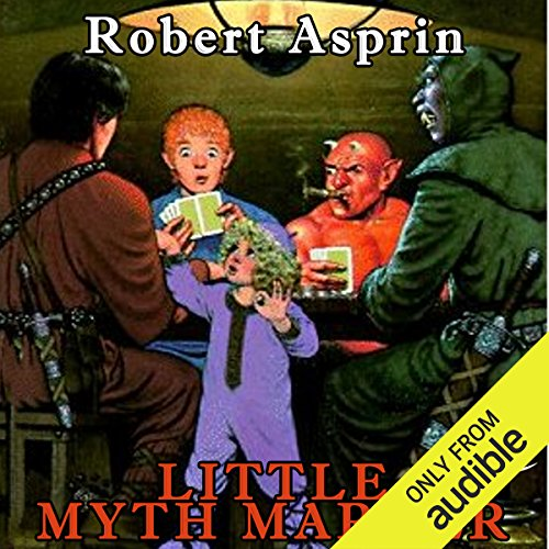Little Myth Marker     Myth Adventures, Book 6              By:                                                                                                                                 Robert Asprin                               Narrated by:                                                                                                                                 Noah Michael Levine                      Length: 4 hrs and 40 mins     329 ratings     Overall 4.6