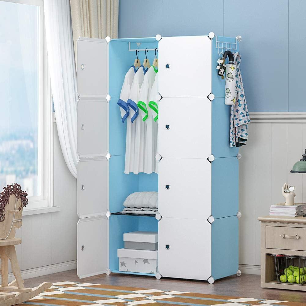 GEORGEDANIS Portable Opening large release sale Wardrobe Recommendation Closet Storage Organize Cube