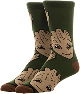 Marvel Guardians of the Galaxy 2 Groot All Over Print Crew Calcetines