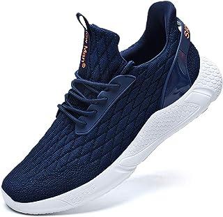 Men's Running Shoes Sock Sneakers - Air Knit Mesh...