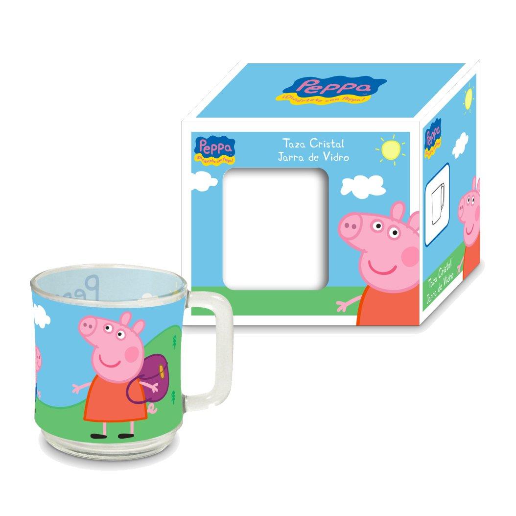 Arditex PP8107 Taza de cristal en caja de regalo, Diseño Peppa Pig ...