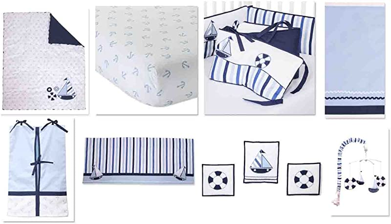 Little Sailor 10 Pc Crib Set