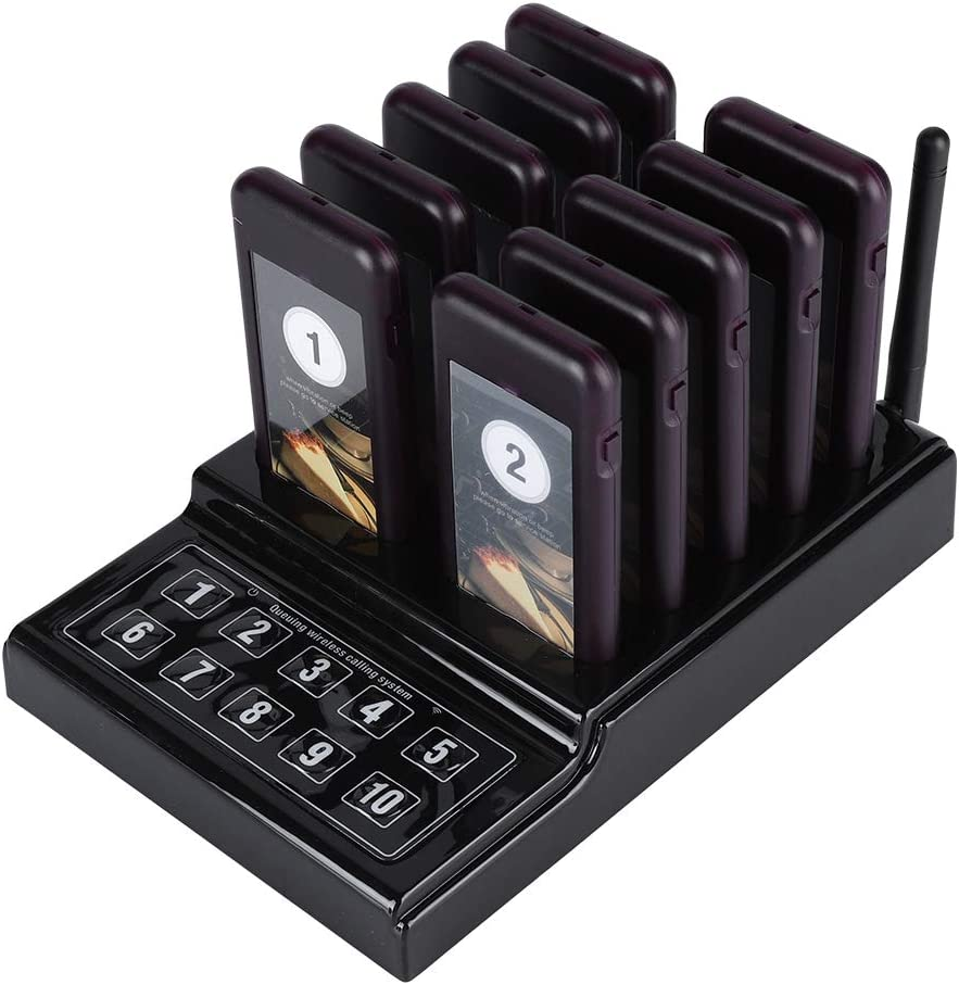 Max 78% OFF ROMACK Pagers and Beepers Buzzer System Wireless R Pager OFFicial