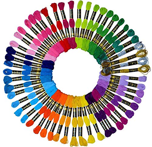 Embroidery Floss 54 skeins Crossstitch Floss $5.05 (49% Off)