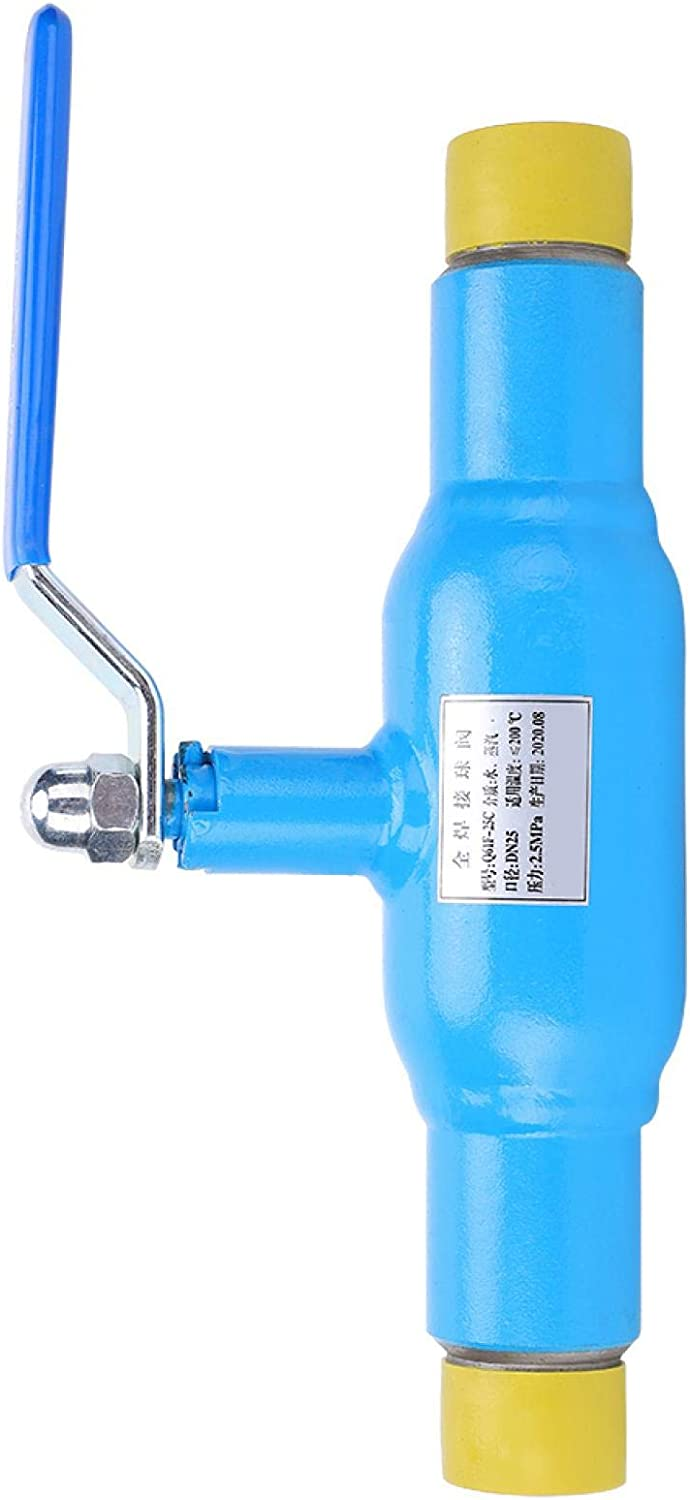 QA61F‑DN32‑25C All‑Welded 70% OFF Outlet Ball Anti‑Corrosion Valve Larg Popular