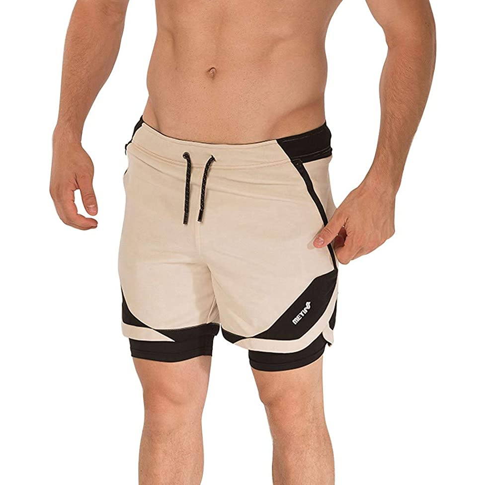 Benficial Men's Summer Short Sports Fitness Breathable Quick-Drying Shorts Sport Short