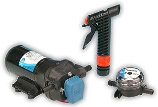 Jabsco 31700 Series Marine ParMax 4 Washdown and Baitwell Water Pump Kit, 4.3 GPM, 50 PSI