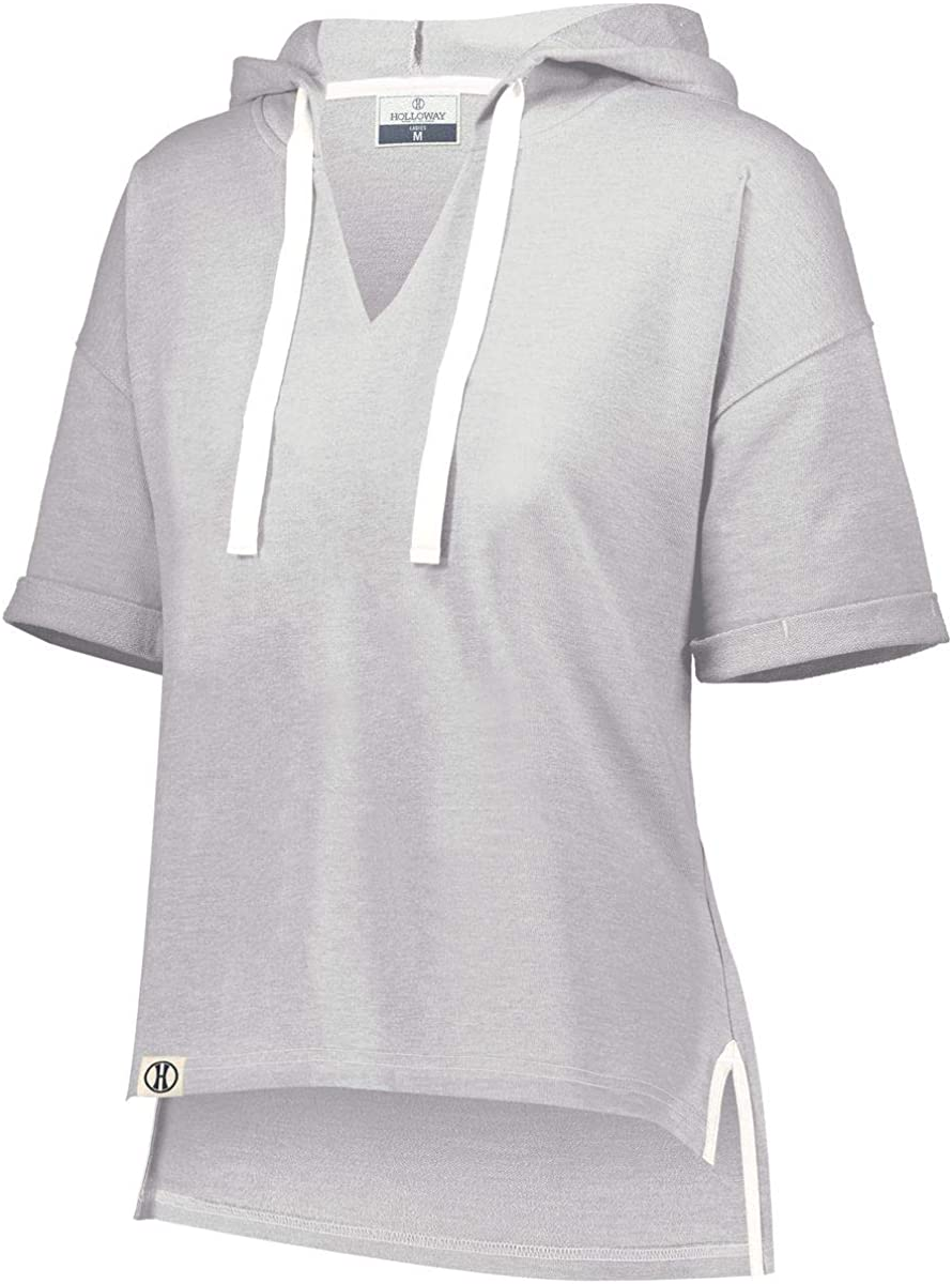 Max 81% OFF Holloway Women's Ladies Sophomore Short Hoodie Sleeve High material