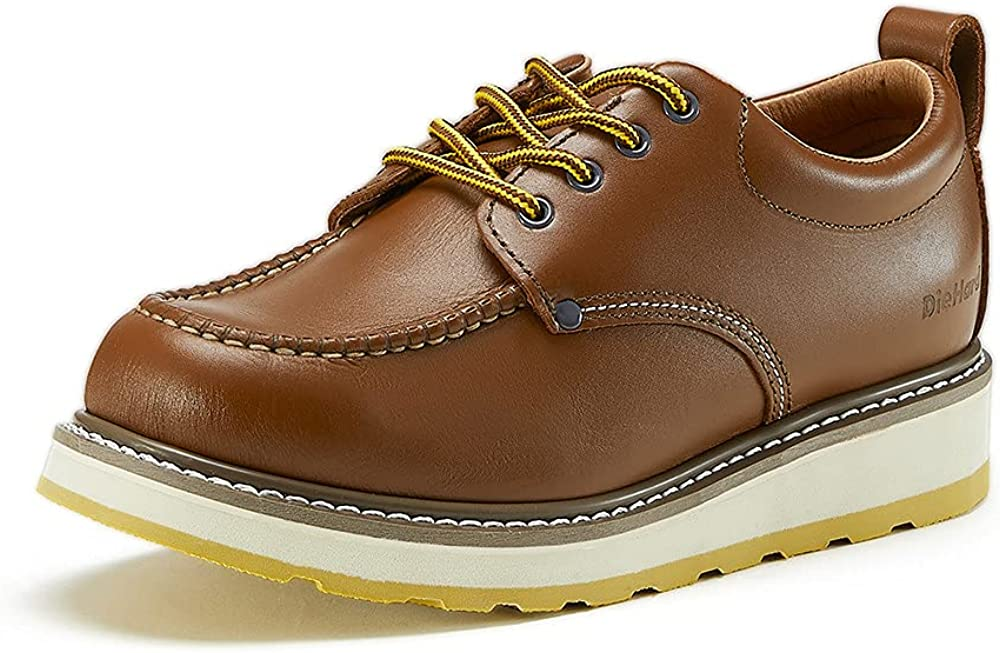 DieHard SureTrack 4'' Men's Soft Toe Leather Oxford Work Shoes 82994 Brown