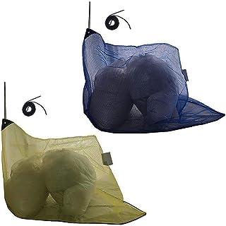 J Covers カラス よけ ゴミ ネット 改良版 三角型 45L ゴミ袋 約1~2個用 ゴミ袋の上からスッポリかぶせるだけで便利 細かい網目 ネット周囲おもりロープ入 周囲にくくり付けできるヒモ付きで便利 選べる2色 日本メーカー企画 (イ...