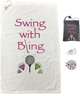 ladies golf bling