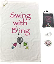 Best bling golf towels Reviews