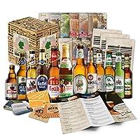 6 BIÈRES ALLEMANDES : Le coffret cadeau unique de Boxiland comprend 6 bières au goût spécial qui feront battre le cœur de votre père plus vite avec le meilleur cadeau pour la Fête des Pères! PROVENANCE : Les spécialités de bière allemande pour les am...