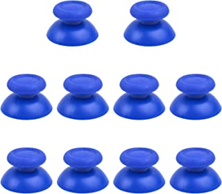 BronaGrand 5 Pairs Blue Replacement Analog Stick Thumbsticks Thumb Stick Joystick for Playstation 4 PS4 Controller