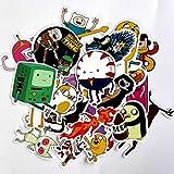 ZXXC 25 Piezas Drama Adventure Time Pegatinas calcomanías para Snowboard portátil Equipaje Coche Nevera DIY Estilo Vinilo decoración del hogar Pegatina