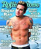 Barewalls Rolling Stone Cover of Mark McGrath/Rolling Stone Magazine Vol. 808, March 18, 1999, Art Print by Mark Seliger