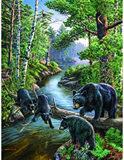SUNSOUT INC Bear Pause 500 pc Jigsaw Puzzle