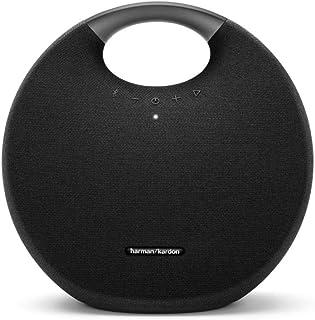 Harman Kardon ONYX STUDIO 6 ワイヤレスポータブルスピーカー Bluetooth/防水/IPX7対応/最大8時間再生/2台同時接続機能 ブラック【日本正規代理店品】