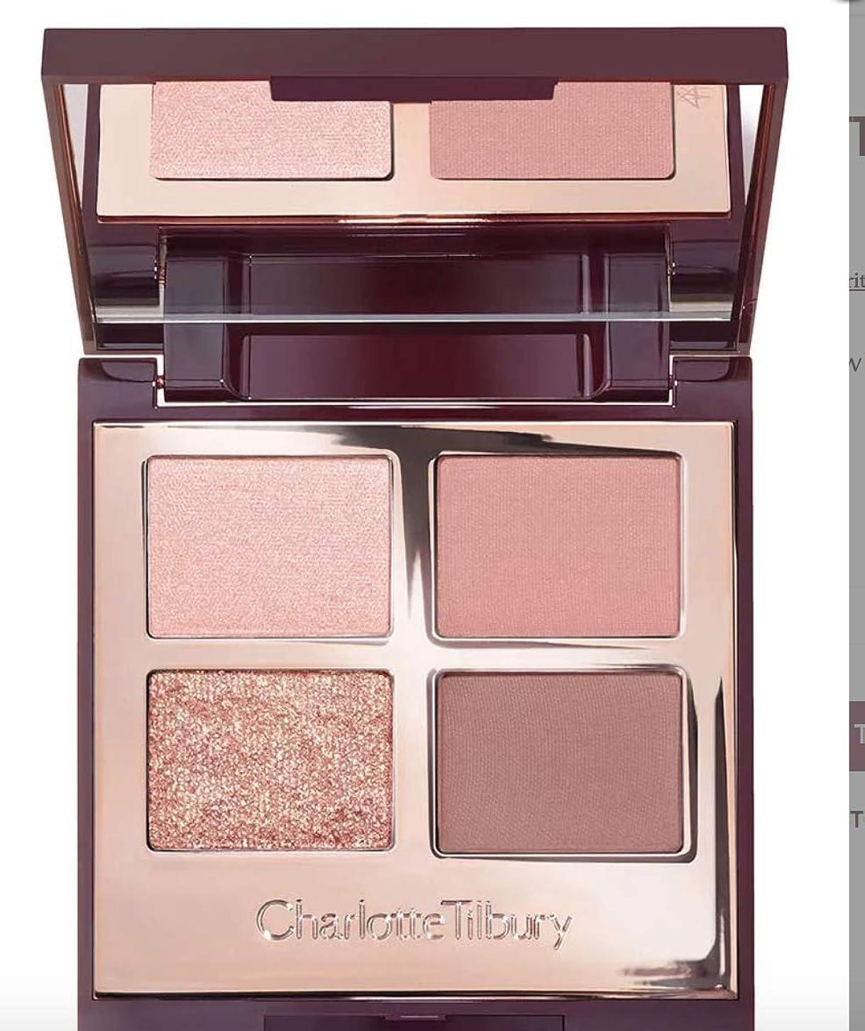淡い長さ防腐剤Charlotte Tilbury Pillow Talk Eye shadow Luxury Palette シャーロットティルバリー