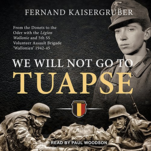 We Will Not Go to Tuapse audiobook cover art