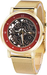 DYTA Mens Watches Top Brand Luxury Clock Relogio Masculino Skeleton Watches Wristwatch Reloj Hombre for Men Birthday Gifts for Dad
