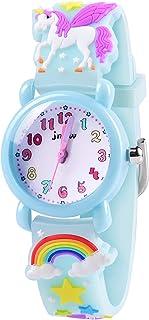 Girls Watch - 3D Cartoon Waterproof Toddler Watch, Gifts...
