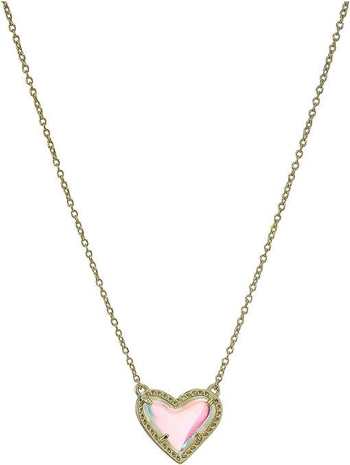 Gold Dichroic Glass