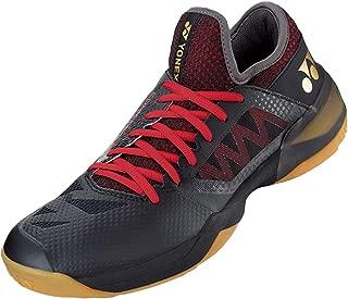 YONEX Power Cushion Comfort Z 2 Men Badminton Shoes-(Black/Red) M7.5