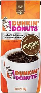 Dunkin' Donuts Original Blend Medium Roast Ground Coffee, 12 Ounces