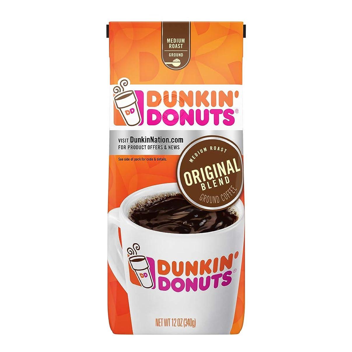 焦げ正当な背骨Dunkin ' Donutsオリジナルブレンドグラウンドコーヒー