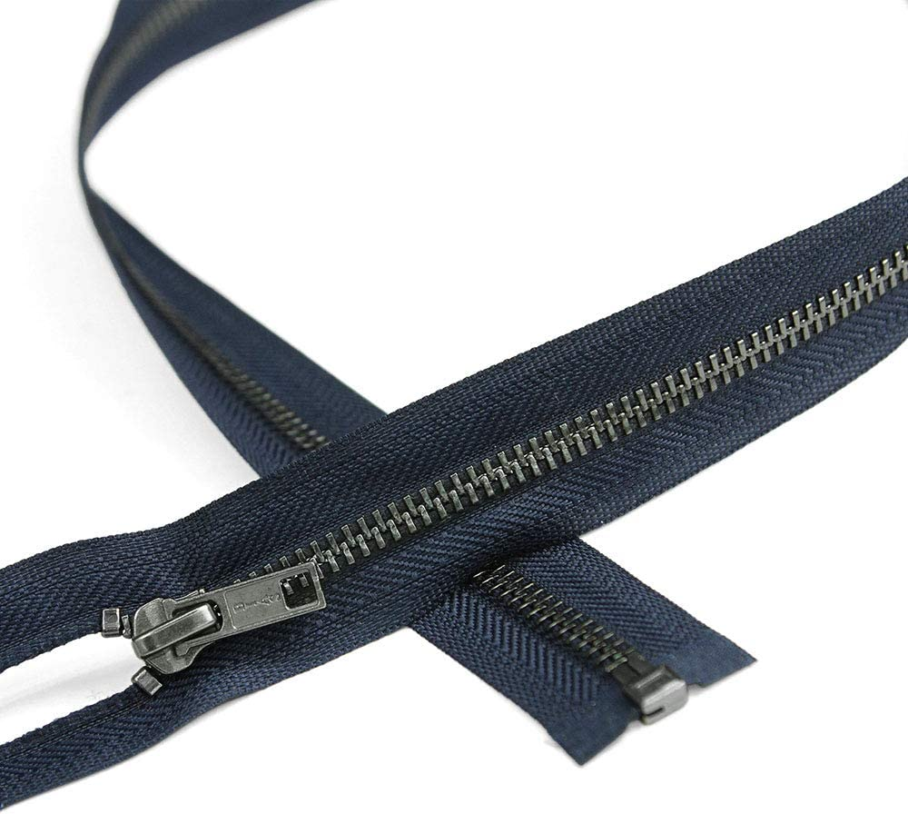 Excellence Sales for sale Size #5 Open End Zipper with Teeth Navy Bl Length 20