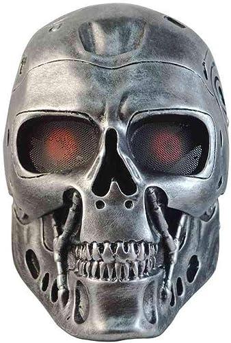 Halloween Cosplay Kostüm Maske Scary Horror Gesichtsmaske Sch l Skelett