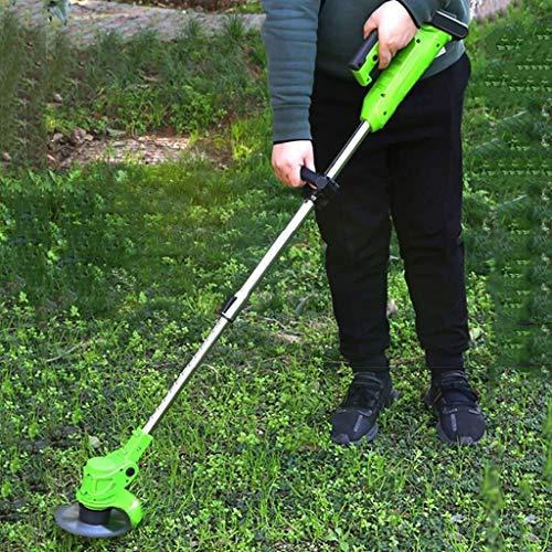 LYYJIAJU Segadoras rotativas Inalámbrico Bionic podadora eléctrica cortadora de césped portátil de podar del jardín del césped del jardín de la Herramienta de Recorte de...