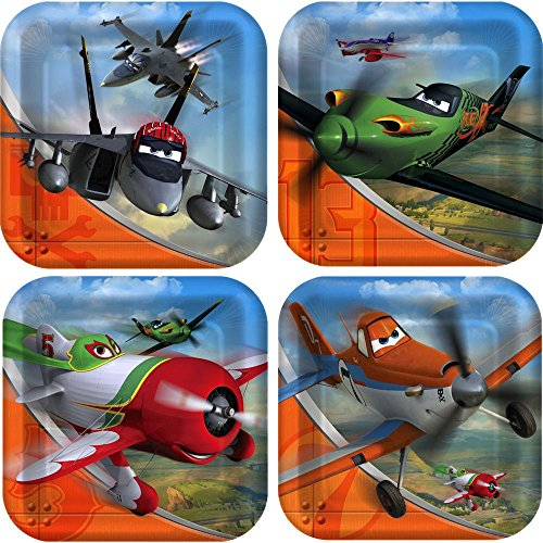 Disney Planes Small Paper Plates (8ct)