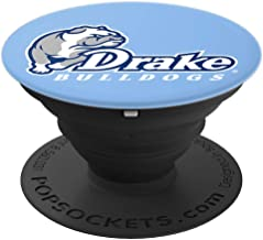 Drake University Collapsible Grip & Stand RYLDRU06 - PopSockets Grip and Stand for Phones and Tablets