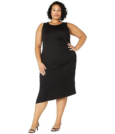 MICHAEL Michael Kors Plus Size Solid Crew Neck Drape Dress