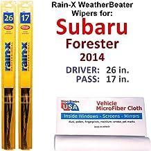 Sponsored Ad - Rain-X WeatherBeater Wiper Blades for 2014 Subaru Forester Set Rain-X WeatherBeater Conventional Blades Wip...