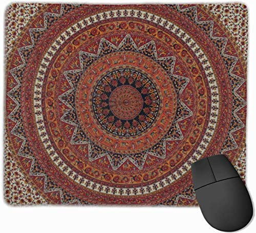 Alfombrilla ratón Mandala Bohemia Durable Comfortable
