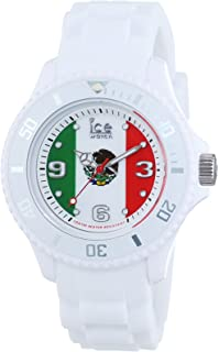 Ice World Edition Multi-Color Dial Silicone Strap Unisex Watch
